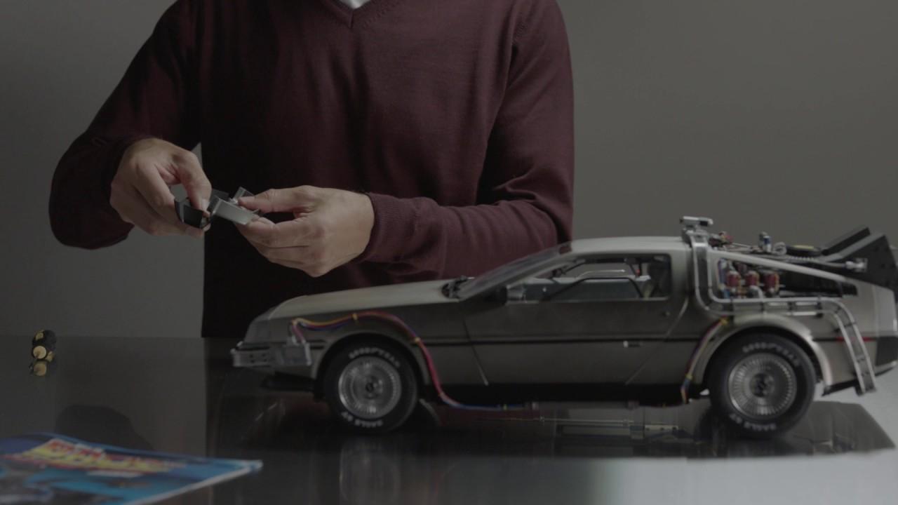 The Build The Back To The Future Delorean Uk Tv Advert -6229