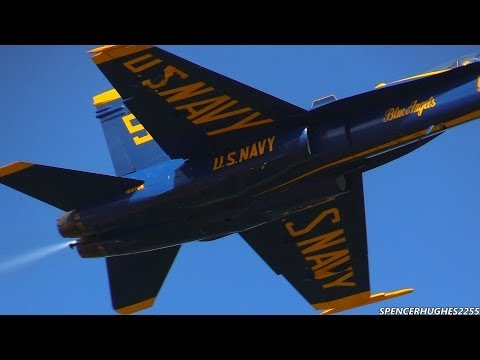 2014 U.S.N.  Blue Angels   Winter Training (3/6/14)