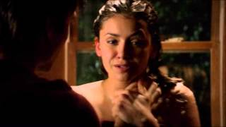 Damon and Elena 5x20 Damon saves Elena in the bath