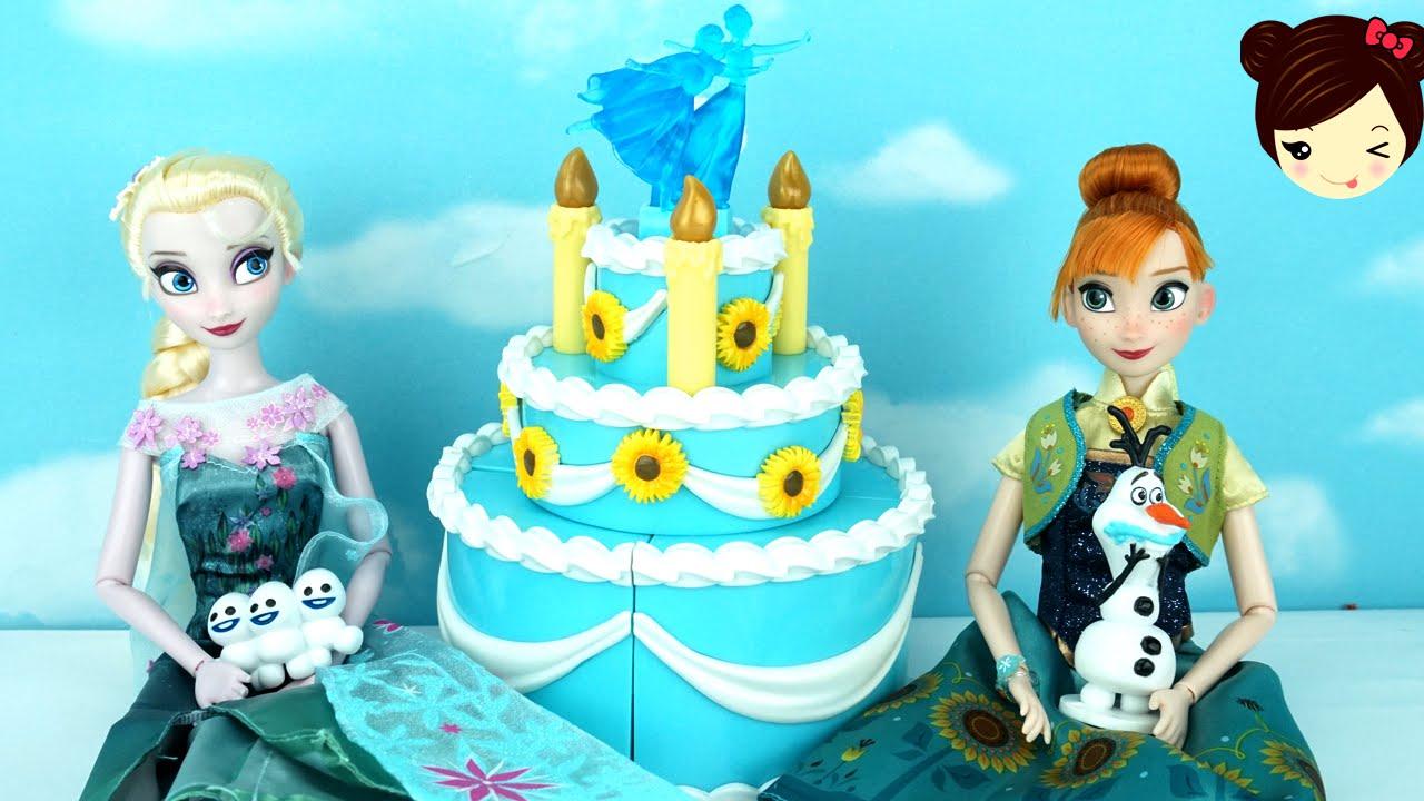 Frozen Fever Birthday Cake