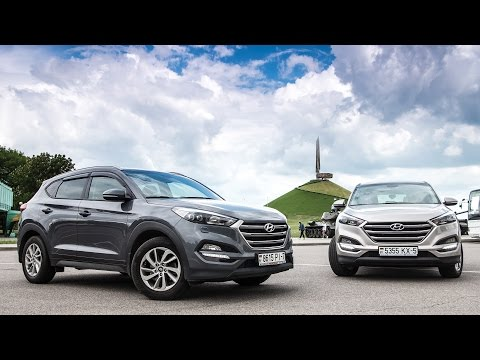 Тестдрайв Два тушкана Hyundai Tucson, 2016my