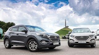 Тестдрайв Два тушкана Hyundai Tucson, 2016my смотреть