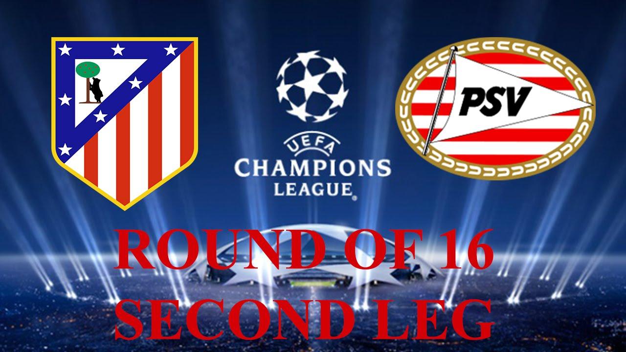 Atletico Madrid vs PSV