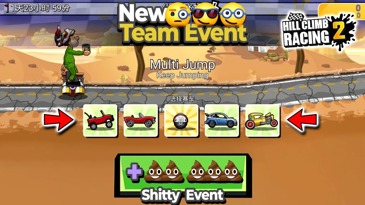 Hill Climb Racing 2 - Preview New Team Event Cardust Crusaders