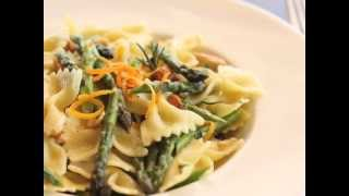 Italian Farfalle Pasta And Asparagus Zest Salad Recipe