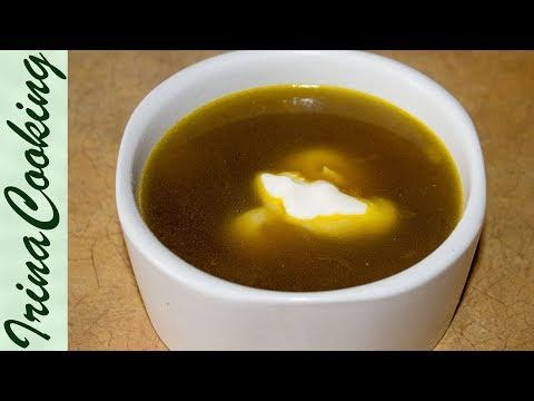 Оригинальный грибной суп из сушеных грибов с гречкой