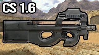 DICA #6 - COMO JOGAR COM A P90 + MINI GAMEPLAY (CS 1.6)