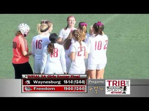 WPIAL Girls Soccer Class 2-A Championship - Waynesburg Central vs Freedom
