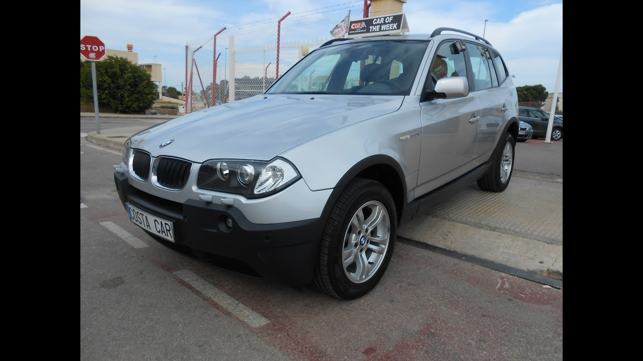 2004 BMW X3 3.0I 8995 € - YouTube