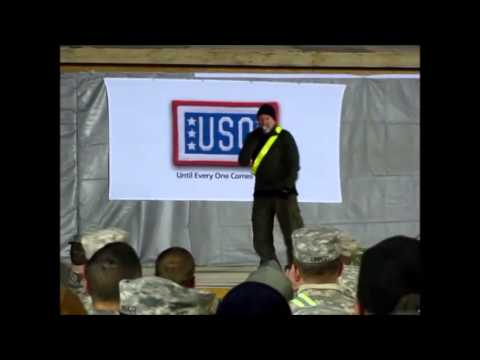 Robin Williams (HD)Kandahar 2010 USO tour(edited)