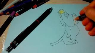 DROOPY ÇİZİYORUZ ÇOCUKLAR  | How to draw a Droopy