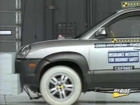 Crash Test 2006 Hyundai Tucson