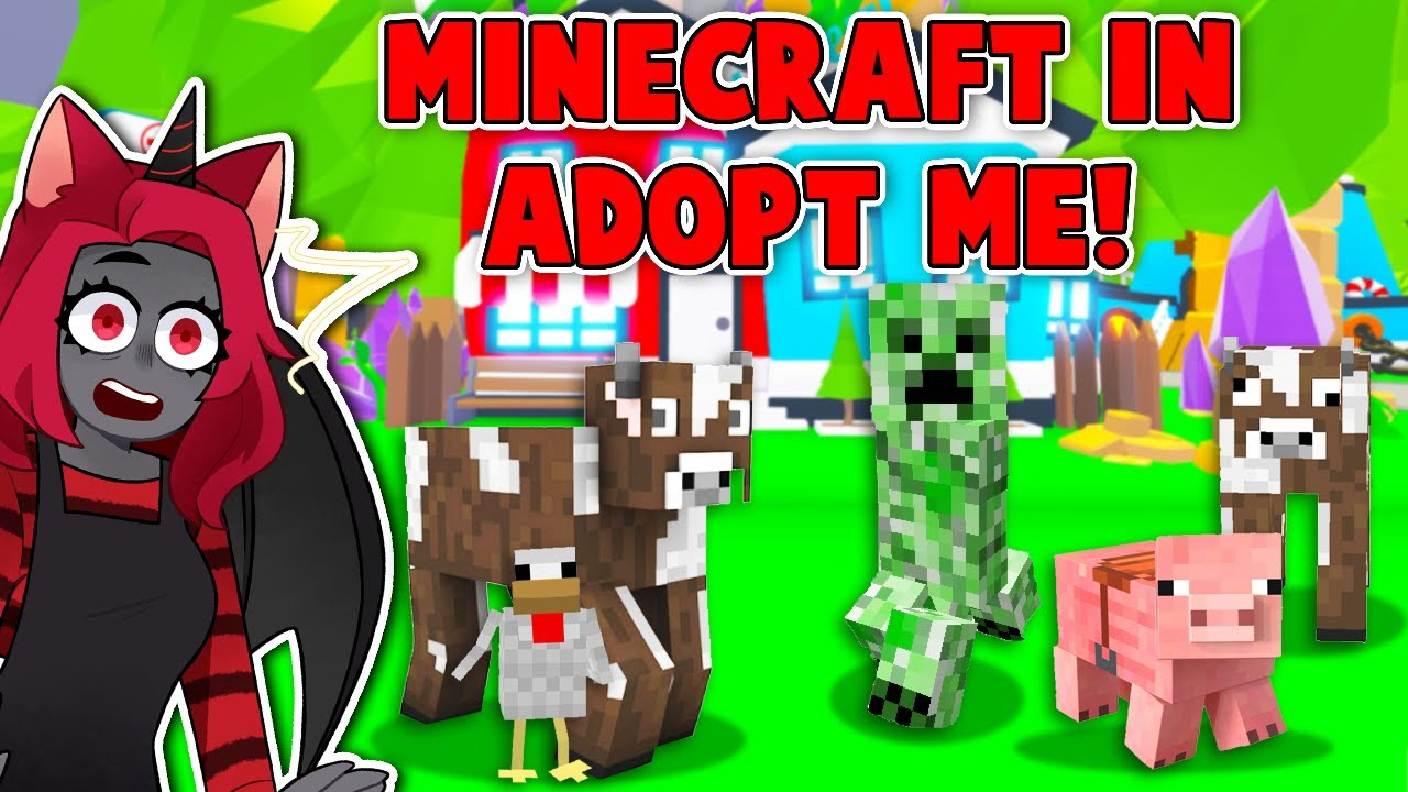 MIENCRAFT In Adopt Me! (Roblox)