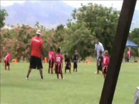 I9 Sports Flag Football Hawaii 6U Team COBRAZ