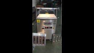 Kase kapama map ambalaj kap gazlı vakum makinesi makinası
