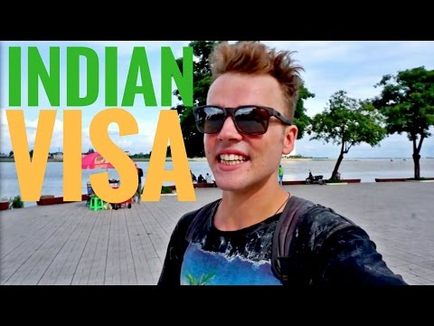 GETTING an INDIAN VISA in Cambodia...