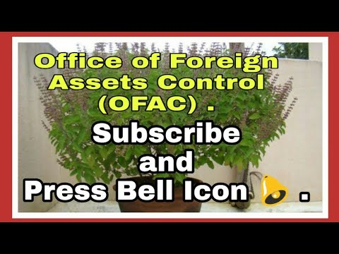 Office Of Foreign Assets Control OFAC Information By Kapil Talreja