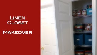 Diy: Linen Closet Makeover