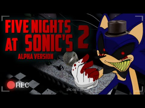 Five nights at sonic s 2 alpha version toy sonic youtube
