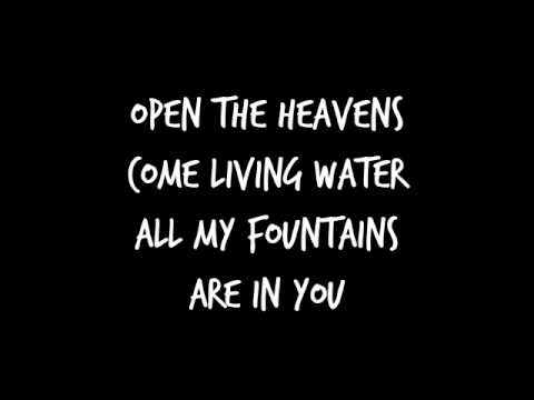 All My Fountains - Chris Tomlin (Lyrics)