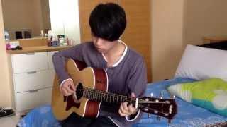 รักเธอคนเดียวเท่านั้น Ost.รักสุดฤทธิ์ Fingerstyle Guitar by ต้นปาล์ม