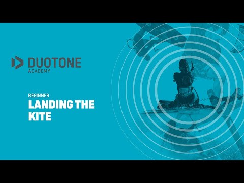 BEGINNER Landing The Kite - Duotone Academy