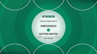 Портсмут  0-2  Саттон Юнайтед видео