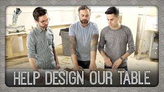 Help Design Our Dining Room Table | Billy & Pat
