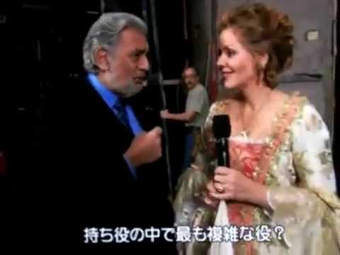 Plácido Domingo interviews - Renée Fleming - Der Rosenkavalier