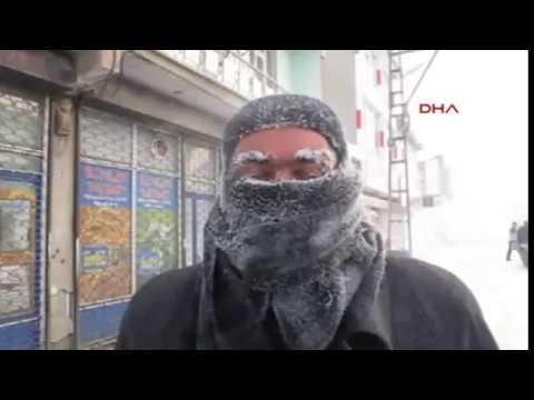 Ağrı soğuk mu - Ağrı'da dondurucu soğuklar | 20 ARALIK 2016