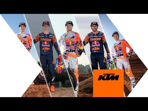 Introducing the 2020 Red Bull KTM Factory Racing Motocross Team   KTM