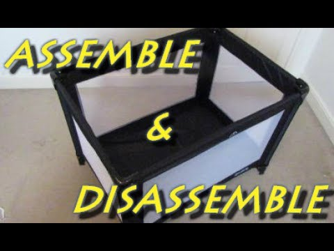How To Assemble And Disassemble A Redkite Travel Cot