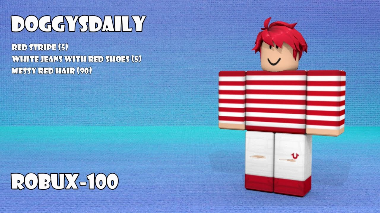 Roblox Outfits Under 100 Robux 2 Youtube