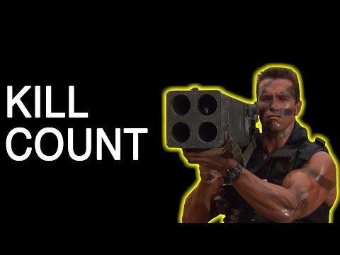 Watch all 509 of Arnold Schwarzenegger's on-screen kills
