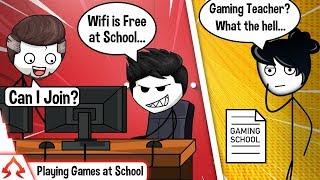 When Your Teacher Is A Gamer