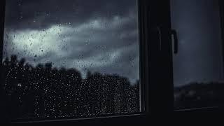 Gece Yağan Dinlendirici Yağmur Sesi