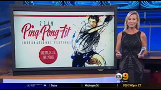 KCAL 9 News - LA Open Table Tennis Tournament