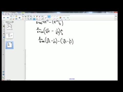 Calculus BC 7.6 Improper Integrals