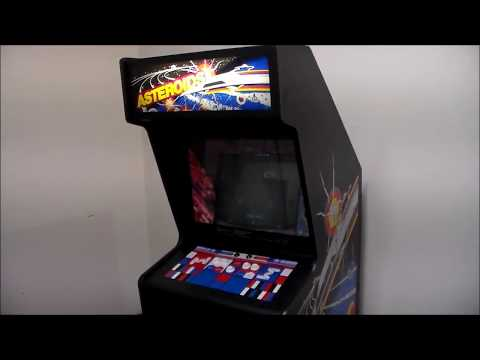 Asteroids Arcade PCB Repair - Strange Display Fault Fixed