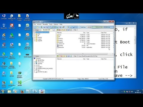 How To Make Bootable USB Flash Drive using UltraISO -- The 8th Son