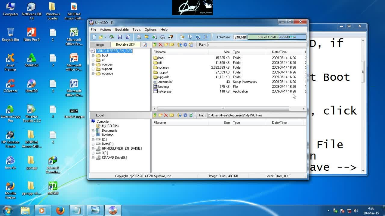 how to create bootable usb windows 7 ultraiso