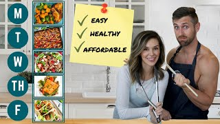 Couple's Weekly Meal Plan: Hea…