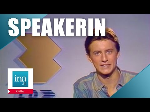 Speakerin 1986 Vincent Perrot | Archive INA