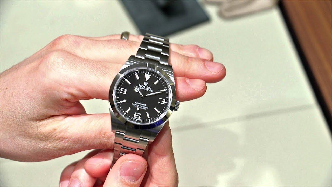 Rolex Explorer 214270 2016 Watch Hands On Ablogtowatch
