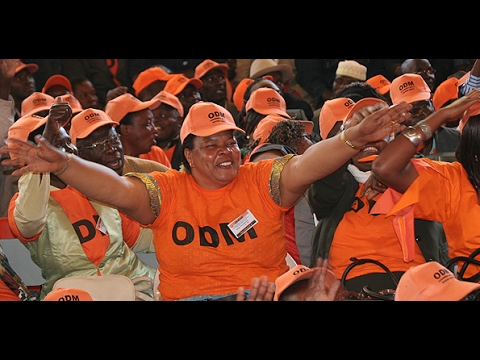 ODM party leader Raila Odinga receive more defectors from Jubilee