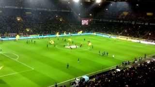 Borussia Dortmund vs Bayer Leverkusen (2013) Mannschaftsaufstellung von Borussia Dortmund