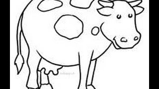 How to draw w/Christian pt. 2: Cow