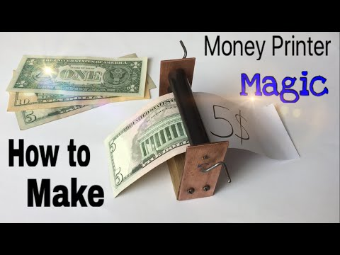 Thumbnail: How to Make a Money Printer Machine - Easy Way - Magic Trick - Tutorial