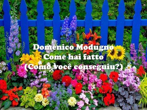 Come Hai Fatto - Como Você Conseguiu? - Domenico Modugno 17/05/2019