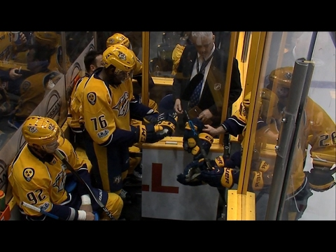 Stars And Predators Get Rough Early, Rack Up Six Penalties In First 45 Seconds